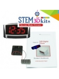 3D Printing STEM Clock Kit