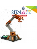 3D Printing STEM 5 Axis Robot Arm Kit